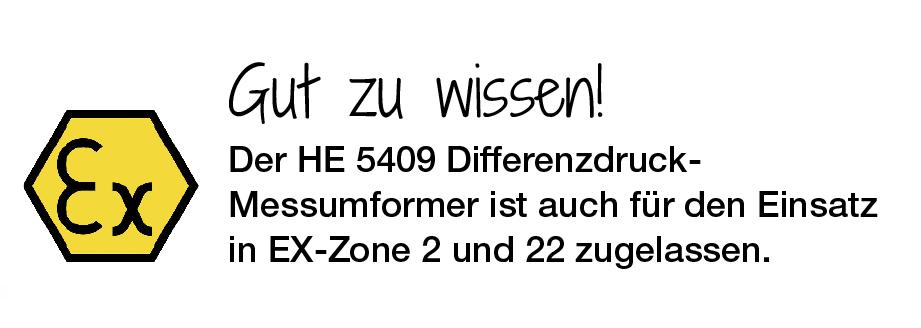 auch für die EX Zone 2 und Zone 22 zugelassen
